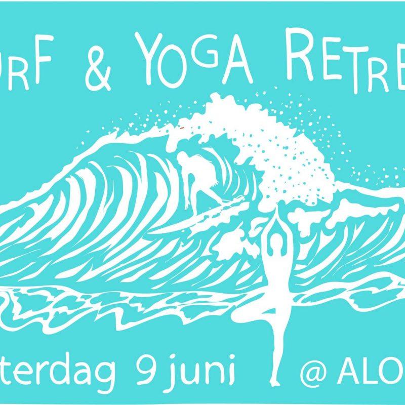 Surf & Yoga retreat 9 juni 2018